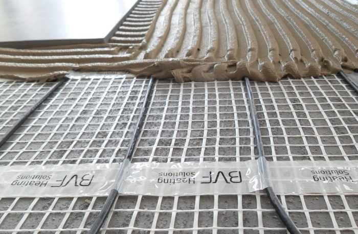 elektromos padlófűtés fűtőszőnyeg